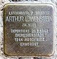 Stolperstein Altonaer Str 15 (Hansa) Arthur Löwenstein.jpg