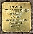 Stolperstein Bartningallee 3 (Hansa) Käthe Schlesinger.jpg