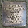 Stolperstein Cloppenburg Osterstraße 15 Selma Sina Simon.JPG