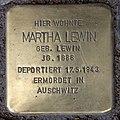 Stolperstein Pariser Str 47 (Wilmd) Martha Lewin.jpg