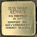 Stolperstein für Olga Fanny Auerbach (Köln).jpg