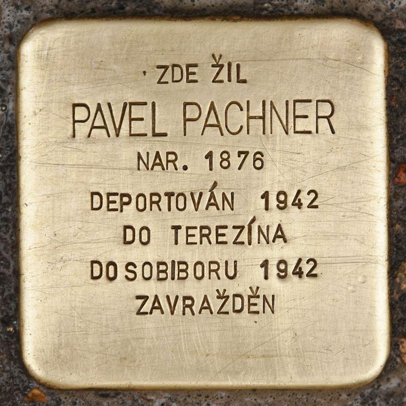 Stolperstein für Pavel Pachner.JPG