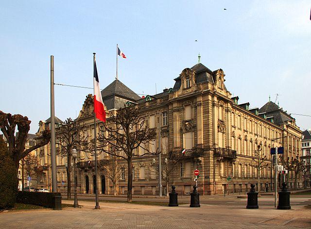 Hôtel des impôts de Strasbourg (wikicommons)
