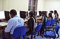 Students editing Odia Wikipedia at IIMC Dhenkanal 18-19 November 2013.JPG