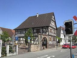 Stutensee Blankenloch Kerns Max Haus