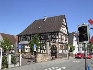 Stutensee - Image: Stutensee Blankenloch Kerns Max Haus