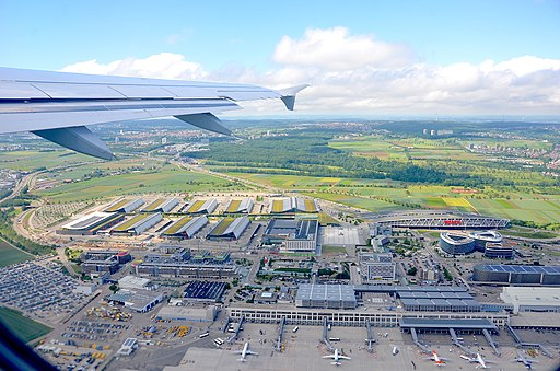 Stuttgart Airport and Stuttgart Trade Fair with Bosch Car Park (2019)