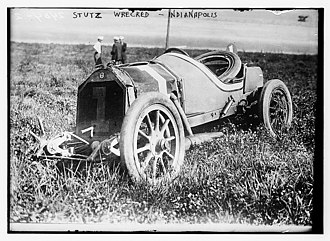 Gil Andersen - Image: Stutz wrecked Indianapolis LCCN2014690425