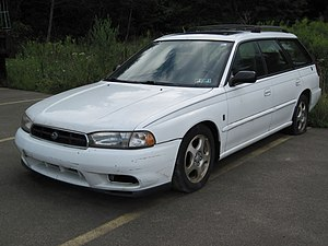 Subaru Legacy (second generation) - Subaru Legacy 30th Anniversary Edition wagon