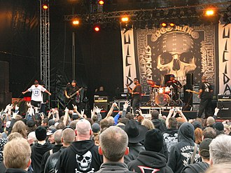 Skate punk - Skate punk band Suicidal Tendencies in 2010