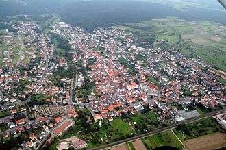 Sulzbach am Main - Aerial picture of Sulzbach