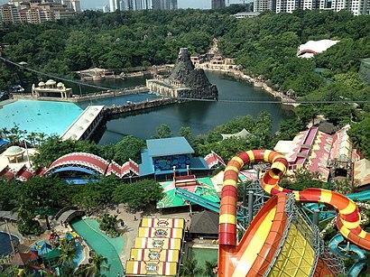 Bagaimana untuk pergi ke Sunway Lagoon dengan pengangkutan awam - Tentang tempat tersebut
