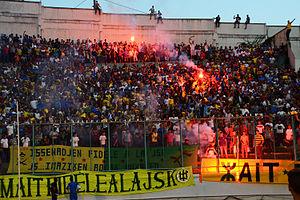 Clasico kabylo-algérois - Image: Supporters de la JS Kabylie, 2014 08 23
