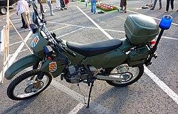 Suzuki DRZ 400 S de la Unidad Militar de Emergencias.