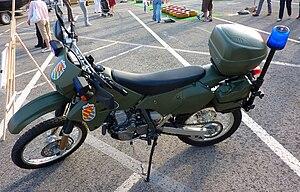 Military Emergencies Unit - Image: Suzuki DRZ 400 S UME