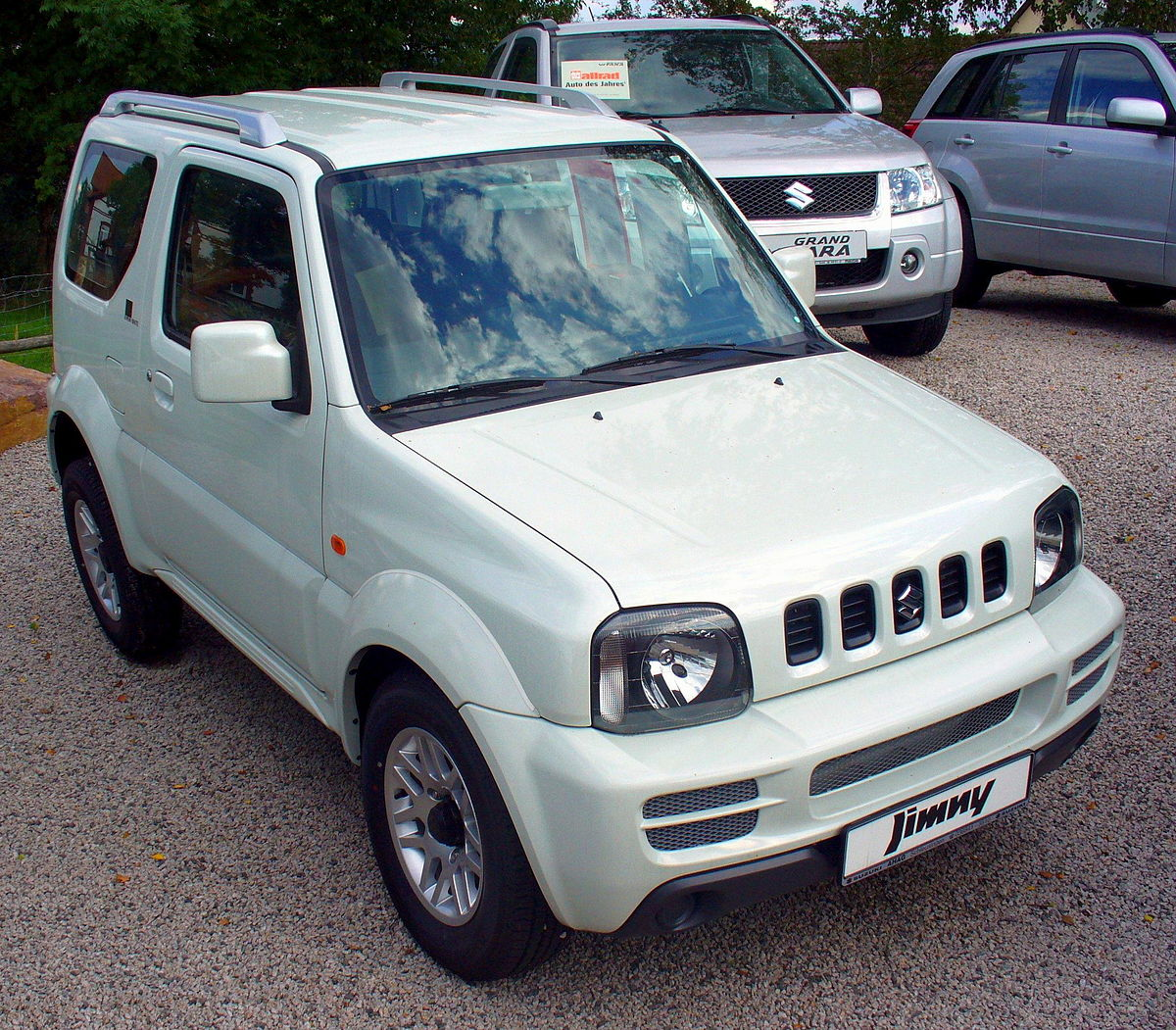 Suzuki Jimny V Conversion