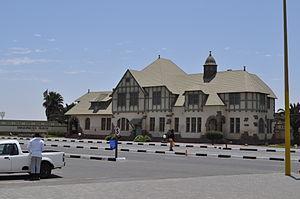 Altes Gefängnis - Historic prison building in Swakopmund