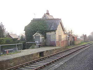 Swanbourne - Image: Swanbourne Railway Station