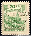 Switzerland Aarau 1906 revenue 70C - 5.jpg