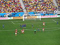 Switzerland and Ecuador match at the FIFA World Cup 2014-06-15 DSC06422 (14427176881).jpg