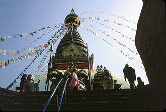 Kathmandu Valley - Swayamhbu Stupa