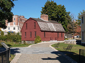 Slater Mill Historic Site - Image: Sylv Brown House Pawt