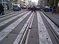 Szeged Somogyi utca felhagyott villamospálya.JPG