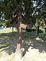 Szekely Memorial Park, cross, 2016 Bonyhad.jpg