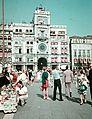 Szent Márk tér, óratorony. Fortepan 75597.jpg