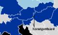 Szentgotthárd, ciudad de Hungría, junto a Eslovenia y Austria.png