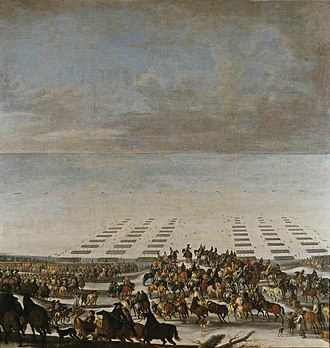 1658 in Denmark - Swedish crossing of the Great Belt on 5 February