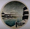 Tōkyō jūnikagetsu, Sanjukkenbori no bosetsu by Kawase Hasui.jpg