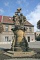 Třebechovice - socha Nejsvětější Trojice.jpg