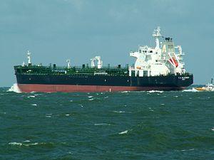 T. C. Gleisner p4 leaving Port of Rotterdam, Holland 06-Aug-2005.jpg