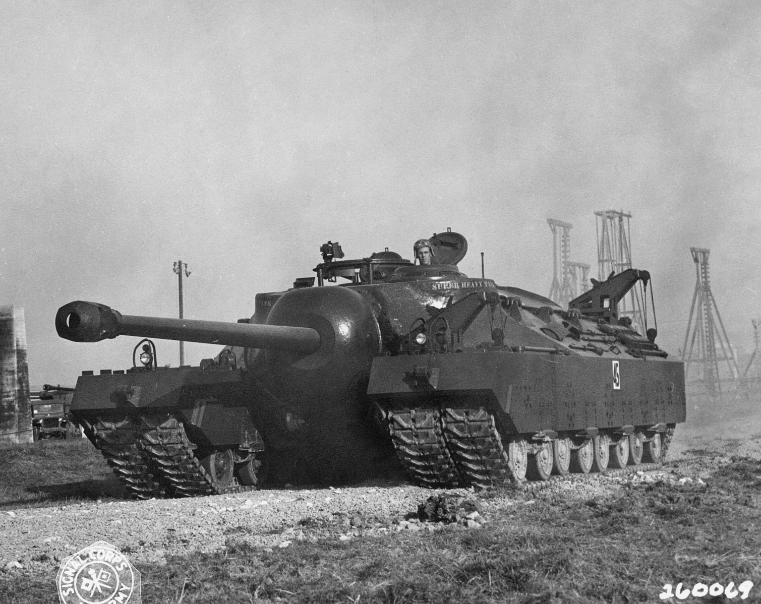 The Army lost a super heavy tank prototype for 27 years