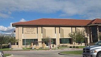 Texas A&M International University - Image: TAMIU Student Union Building MVI 3062