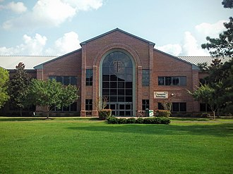 Tallahassee Community College - Classroom building on the main campus