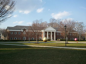 English: TCNJ Music Building
