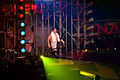 Samoa Joe making his entrance at Bound for Glory IV