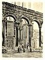 Tafel 023a Spalato - Eingang zum Dom - Heliografie Kowalczyk 1909.jpg