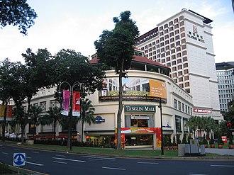 Tanglin - Tanglin Mall on Tanglin Road.