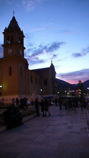 Junín Region - Santa Ana de Tarma church.