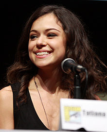 Description de l'image  Tatiana Maslany by Gage Skidmore.jpg.