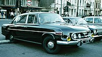 Tatra, London, diplomatic license plates of Czechoslovakia.jpg