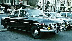 Tatra, London, diplomatic license plates of Czechoslovakia.jpg