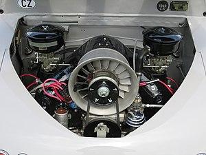 Tatra 600 - Tatra 600 engine-bay