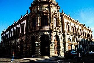 Macedonio Alcalá - Macedonio Alcalá Theater, in the City of Oaxaca