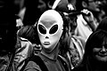 Techno alien, Techno parade 2011.jpg