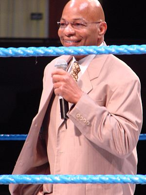 Theodore Long - Long at a SmackDown event in 2007