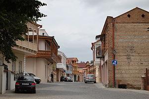 Telavi - Image: Telavi old city